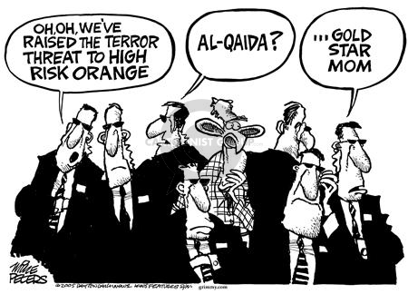 Mike Peters  Mike Peters' Editorial Cartoons 2005-08-14 fatality