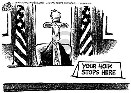 Cartoonist Mike Peters  Mike Peters' Editorial Cartoons 2002-08-16 national
