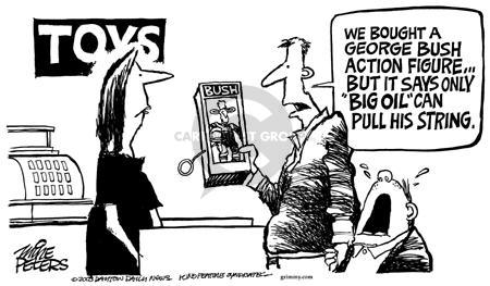 Cartoonist Mike Peters  Mike Peters' Editorial Cartoons 2003-08-17 lobbyist