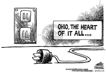 Mike Peters  Mike Peters' Editorial Cartoons 2003-08-22 electric
