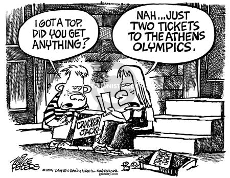 Mike Peters  Mike Peters' Editorial Cartoons 2004-08-22 2004 Olympics