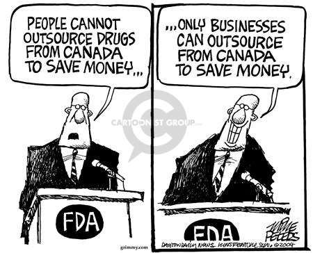 Cartoonist Mike Peters  Mike Peters' Editorial Cartoons 2004-08-23 international trade