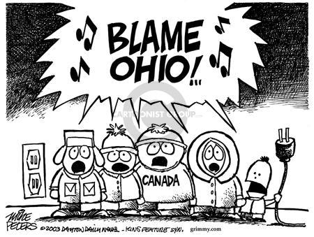 Cartoonist Mike Peters  Mike Peters' Editorial Cartoons 2003-08-24 park