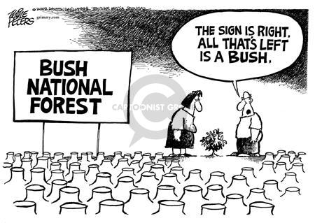Cartoonist Mike Peters  Mike Peters' Editorial Cartoons 2002-08-25 national