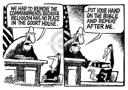 Cartoonist Mike Peters  Mike Peters' Editorial Cartoons 2003-08-30 Constitution
