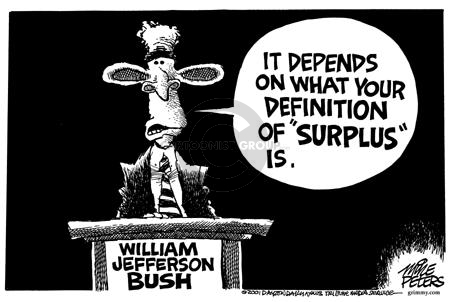 Mike Peters  Mike Peters' Editorial Cartoons 2001-09-01 Clinton administration