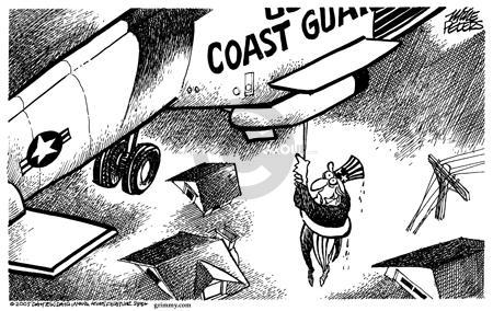 Cartoonist Mike Peters  Mike Peters' Editorial Cartoons 2005-09-01 devastation