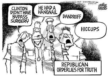 Mike Peters  Mike Peters' Editorial Cartoons 2004-09-09 honesty