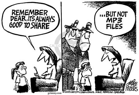 Mike Peters  Mike Peters' Editorial Cartoons 2003-09-12 police