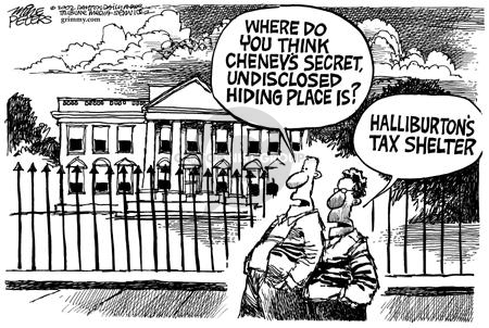 Cartoonist Mike Peters  Mike Peters' Editorial Cartoons 2002-09-16 accounting