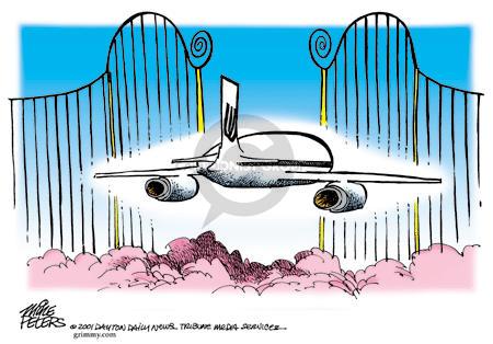 Cartoonist Mike Peters  Mike Peters' Editorial Cartoons 2001-09-18 terrorist