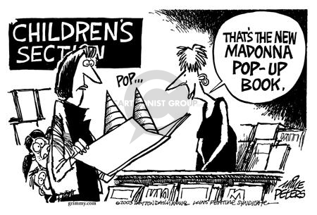 Cartoonist Mike Peters  Mike Peters' Editorial Cartoons 2003-09-19 literature