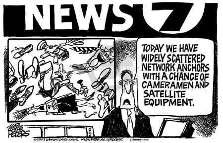 Cartoonist Mike Peters  Mike Peters' Editorial Cartoons 2003-09-20 meteorology