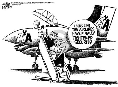 Cartoonist Mike Peters  Mike Peters' Editorial Cartoons 2001-09-22 trip