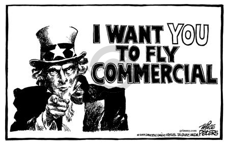 Cartoonist Mike Peters  Mike Peters' Editorial Cartoons 2001-09-30 airplane