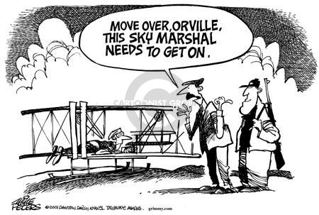 Cartoonist Mike Peters  Mike Peters' Editorial Cartoons 2001-10-01 trip