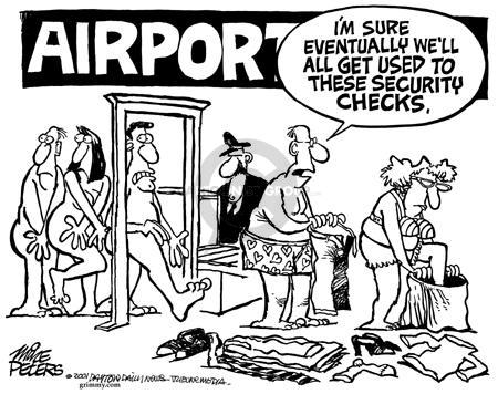 Cartoonist Mike Peters  Mike Peters' Editorial Cartoons 2001-10-04 trip