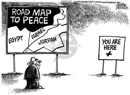 Mike Peters  Mike Peters' Editorial Cartoons 2003-10-09 Israel
