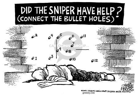 Cartoonist Mike Peters  Mike Peters' Editorial Cartoons 2002-10-26 bear