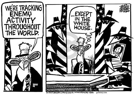 Cartoonist Mike Peters  Mike Peters' Editorial Cartoons 2005-10-08 CIA
