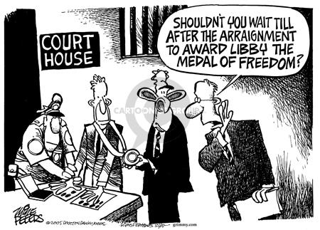 Cartoonist Mike Peters  Mike Peters' Editorial Cartoons 2005-11-05 CIA