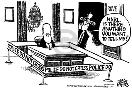 Cartoonist Mike Peters  Mike Peters' Editorial Cartoons 2005-11-06 police