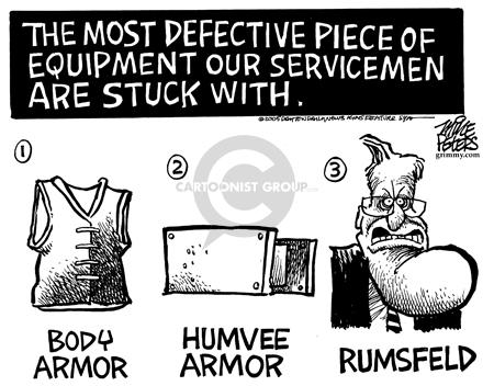 Cartoonist Mike Peters  Mike Peters' Editorial Cartoons 2005-11-21 post-war