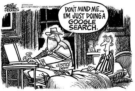 Cartoonist Mike Peters  Mike Peters' Editorial Cartoons 2006-01-23 high-tech