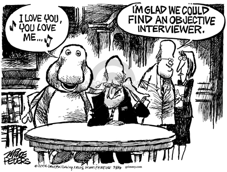Cartoonist Mike Peters  Mike Peters' Editorial Cartoons 2006-02-18 objective