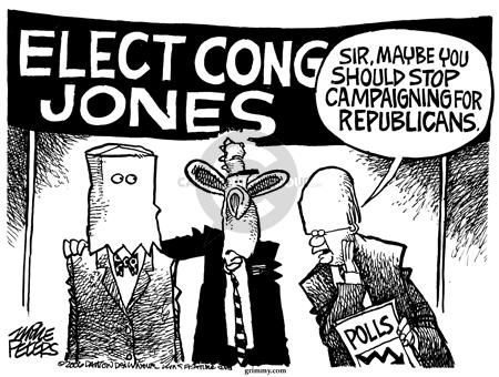 Cartoonist Mike Peters  Mike Peters' Editorial Cartoons 2006-03-16 republican president