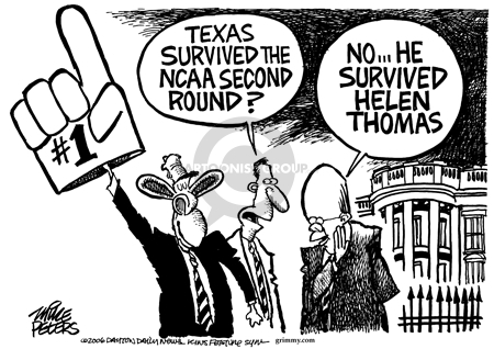 Mike Peters  Mike Peters' Editorial Cartoons 2006-03-23 NCAA