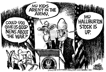 Cartoonist Mike Peters  Mike Peters' Editorial Cartoons 2006-03-25 special interest