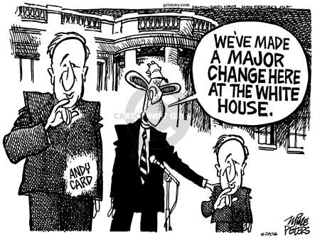 Cartoonist Mike Peters  Mike Peters' Editorial Cartoons 2006-03-30 card