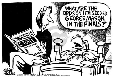 Cartoonist Mike Peters  Mike Peters' Editorial Cartoons 2006-03-31 shot