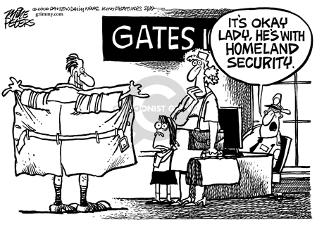 Mike Peters  Mike Peters' Editorial Cartoons 2006-04-07 Department of Homeland Security