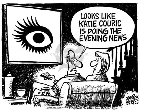 Cartoonist Mike Peters  Mike Peters' Editorial Cartoons 2006-04-08 eye