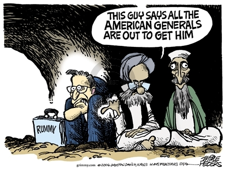 Cartoonist Mike Peters  Mike Peters' Editorial Cartoons 2006-04-16 terrorist