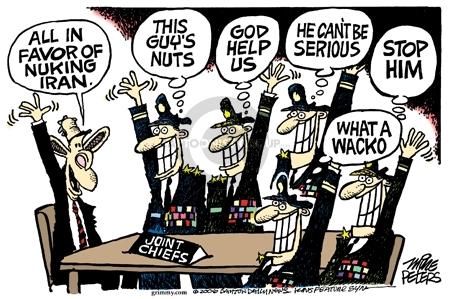 Cartoonist Mike Peters  Mike Peters' Editorial Cartoons 2006-04-20 editorial staff