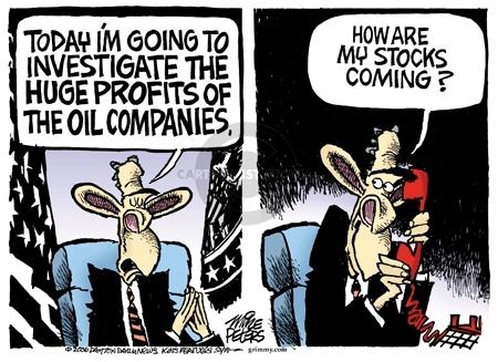 Mike Peters  Mike Peters' Editorial Cartoons 2006-04-25 gas price increase