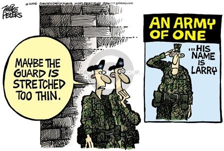Cartoonist Mike Peters  Mike Peters' Editorial Cartoons 2006-05-19 national