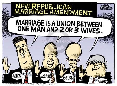Cartoonist Mike Peters  Mike Peters' Editorial Cartoons 2006-05-26 Newt Gingrich