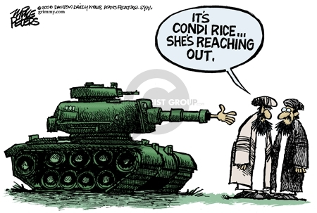 Mike Peters  Mike Peters' Editorial Cartoons 2006-07-24 Middle East