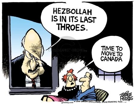 Cartoonist Mike Peters  Mike Peters' Editorial Cartoons 2006-07-29 move