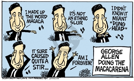 Mike Peters  Mike Peters' Editorial Cartoons 2006-08-19 racism