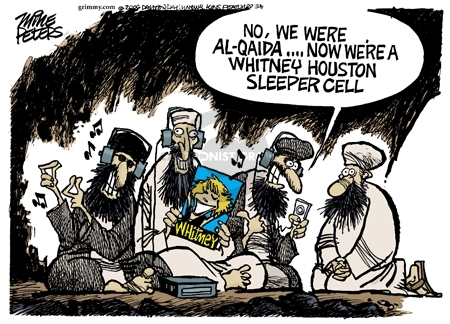 Cartoonist Mike Peters  Mike Peters' Editorial Cartoons 2006-08-26 terrorist