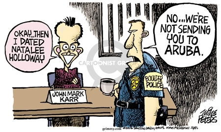 Cartoonist Mike Peters  Mike Peters' Editorial Cartoons 2006-09-01 police