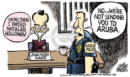 Mike Peters  Mike Peters' Editorial Cartoons 2006-09-01 murder