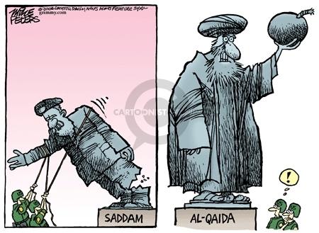 Cartoonist Mike Peters  Mike Peters' Editorial Cartoons 2006-09-15 terrorist