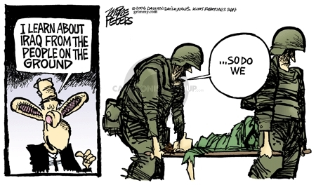 Mike Peters  Mike Peters' Editorial Cartoons 2006-09-23 insurgency