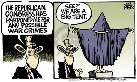 Cartoonist Mike Peters  Mike Peters' Editorial Cartoons 2006-10-01 republican convention
